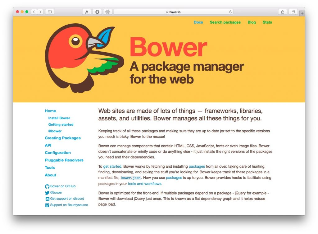 Bower Automation in WordPress