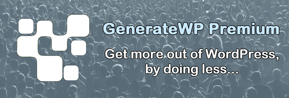 GenerateWP Premium Services
