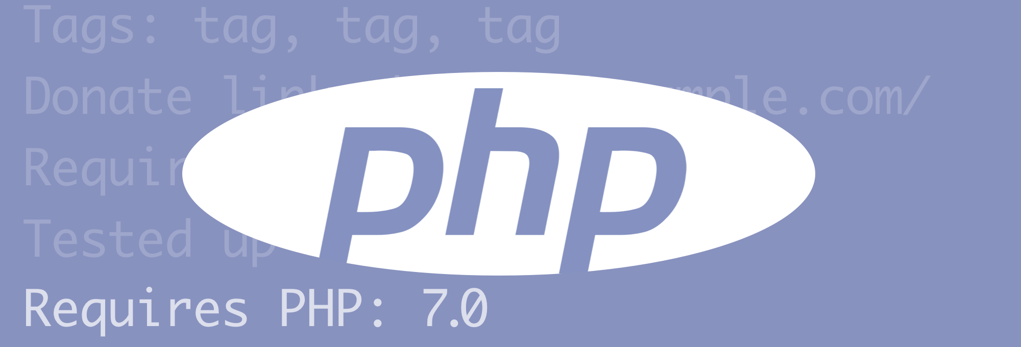 Minimum Required PHP version