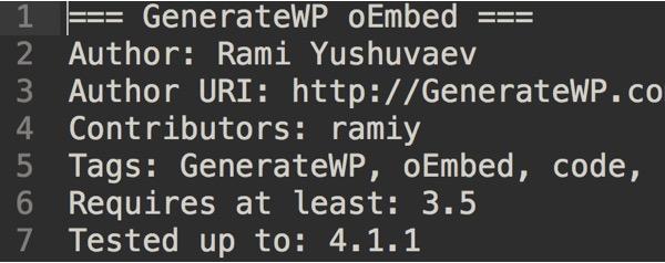 plugin-readme-generator