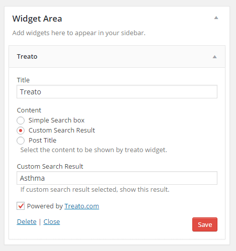 Treato Widget