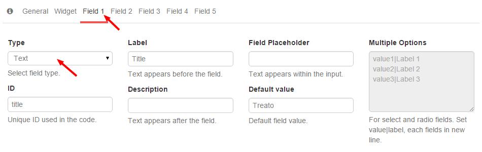 Treato Widget Field 1 - Widget Title