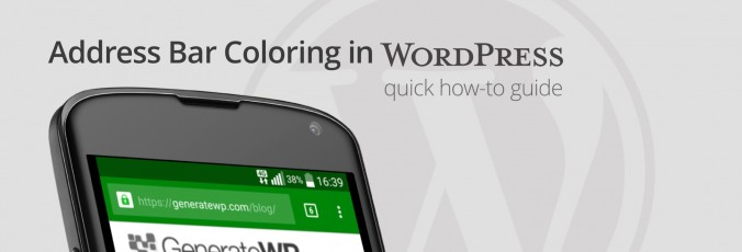 Easiest Way to Color Your Mobile Browser Address Bar in WordPress